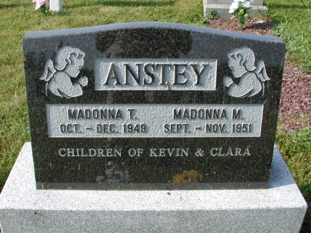 ANSTEY Madonna T (1949) & Madonna M (1951) CLN01-3538