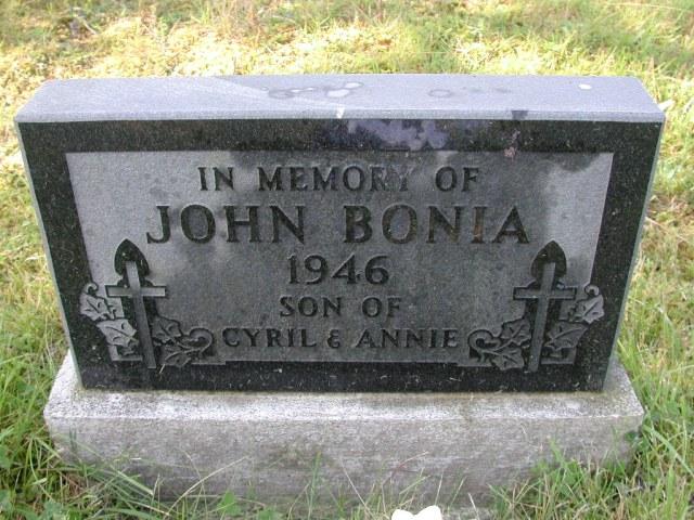 BONIA, John (1946) CLN01-3464