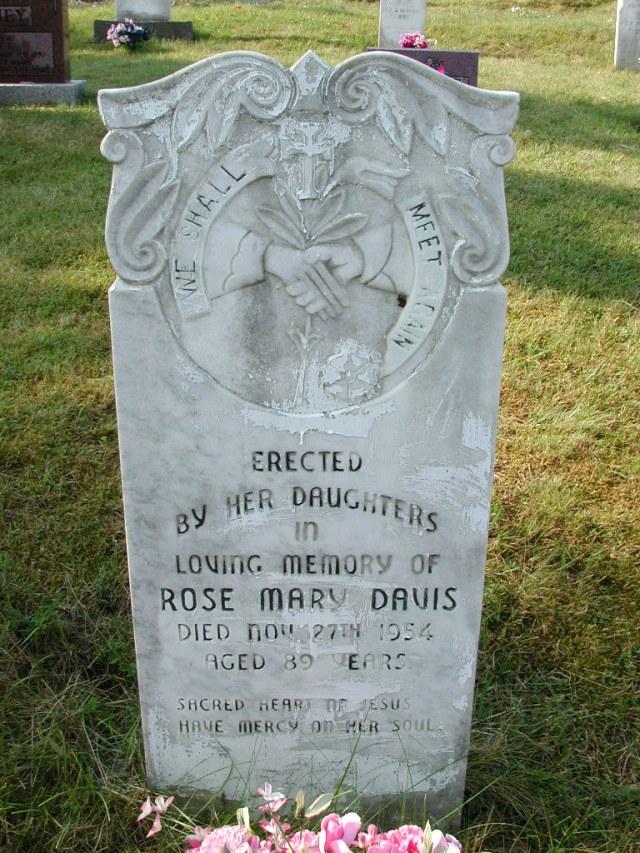 DAVIS, Rose Mary (1954) CLN01-3473
