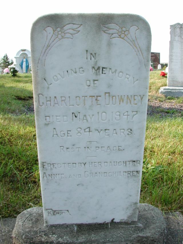 DOWNEY, Charlotte (1947) CLN01-3484