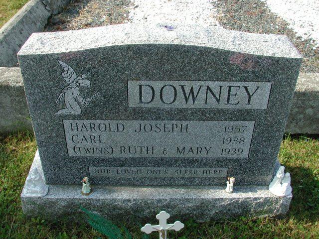 DOWNEY, Harold Joseph (1957) & Carl & others CLN01-3497