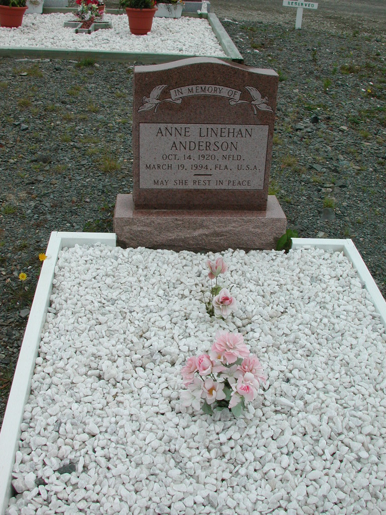 ANDERSON, Anne Linehan (1994) ODN01-1970