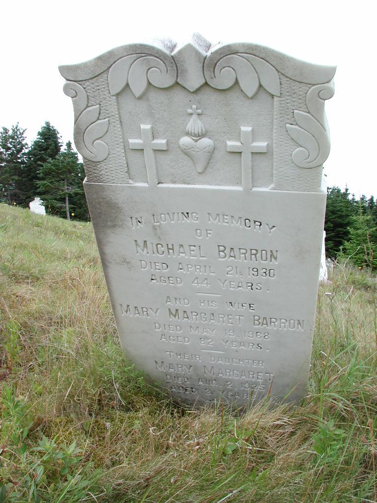 BARRON, Michael (1930) & Mary Margaret & Mary SJP01-1903