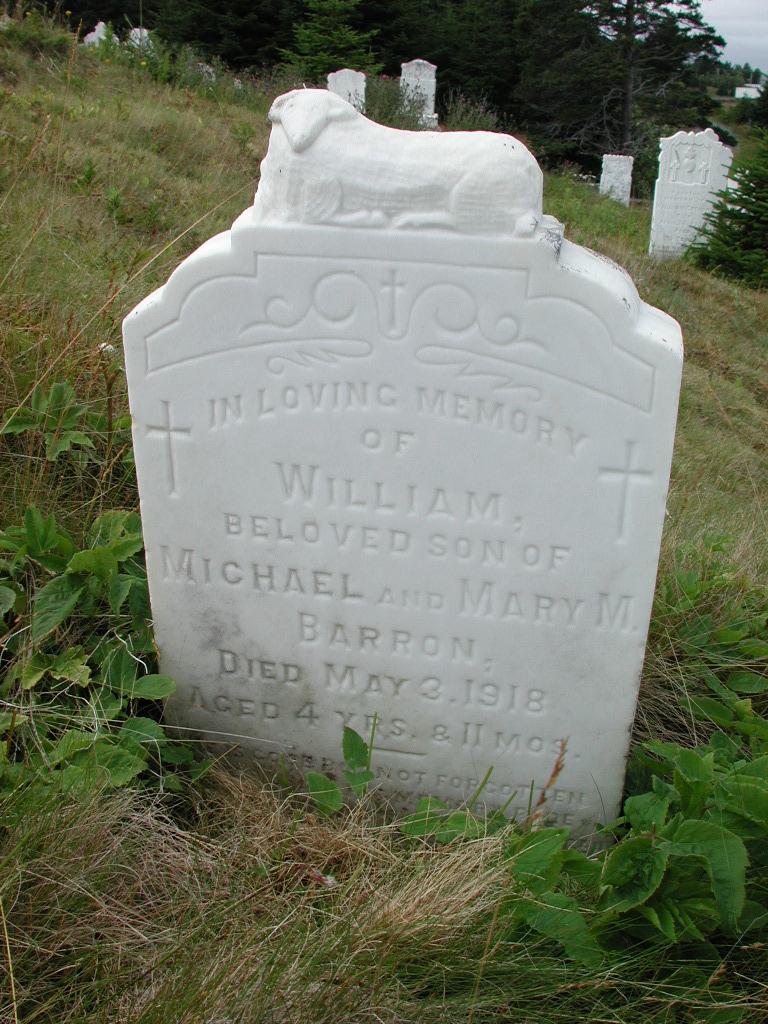 BARRON, William (1918) SJP01-1902