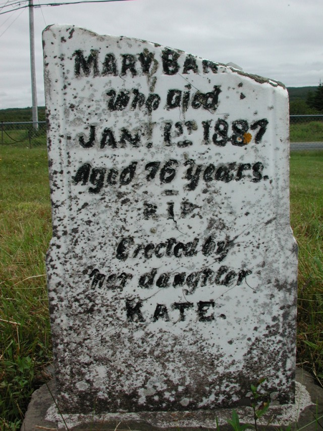 BARRY, Mary (1887) STM01-2318