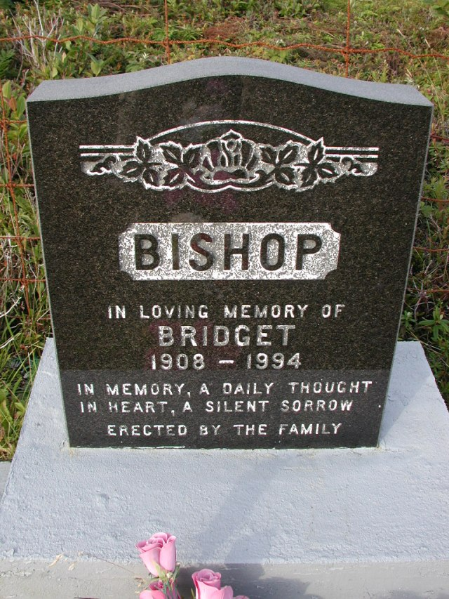 BISHOP, Bridget (1994) STM03-9487