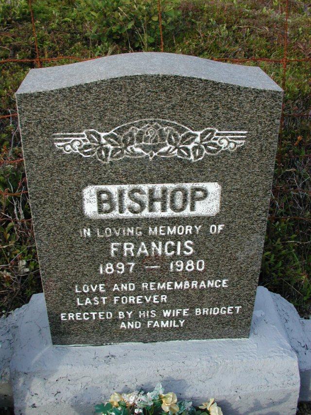 BISHOP, Francis (1980) STM03-9488
