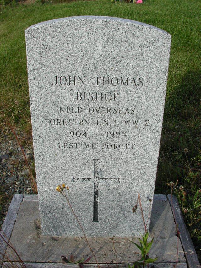 BISHOP, John Thomas (1994) STM03-9466