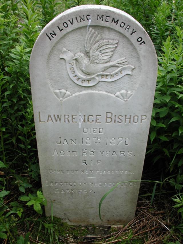 BISHOP, Lawrence (1970) STM01-8114