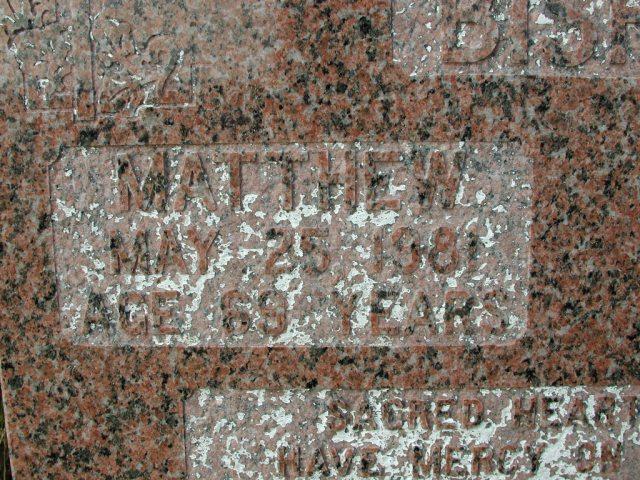 BISHOP, Matthew (1981) & John (1981) STM03-9484