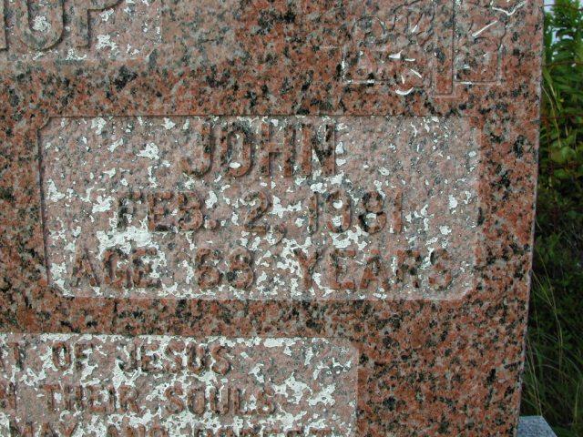 BISHOP, Matthew (1981) & John (1981) STM03-9485