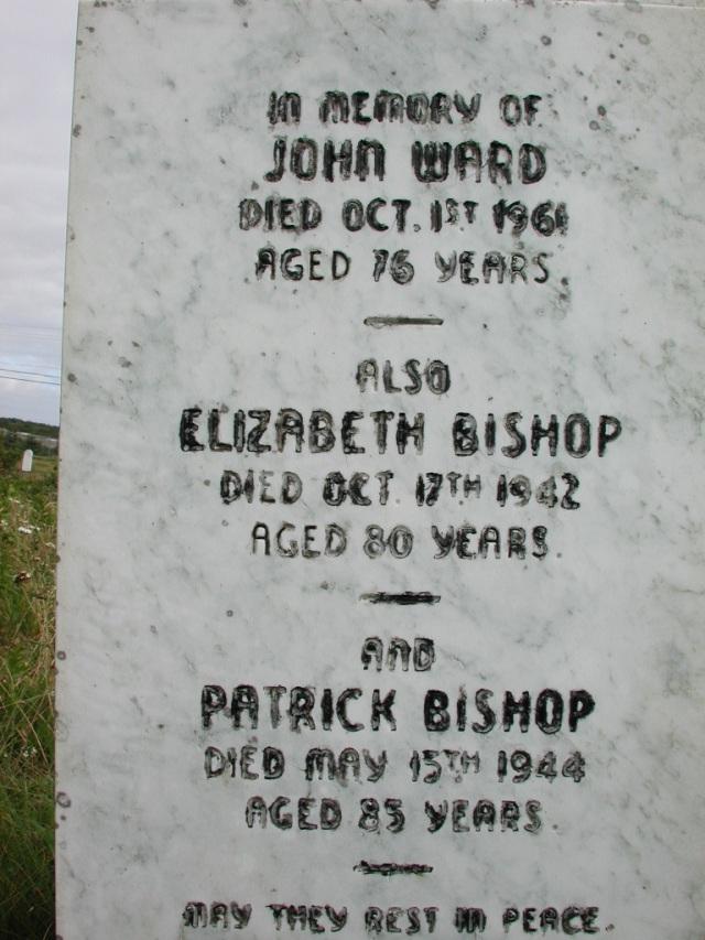 BISHOP, Patrick (1944) & Elizabeth & John Ward STM01-2518