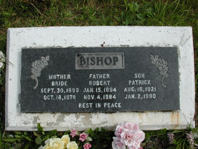 BISHOP, Robert (1984) & Patrick & Bride STM01-8257