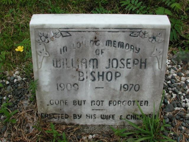 BISHOP, William Joseph (1970) STM01-8115