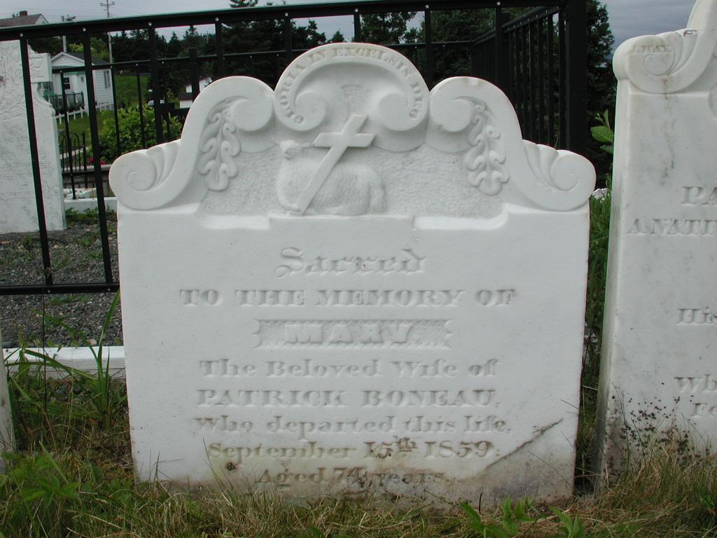 BONEAU, Mary (1859) SJP01-1916