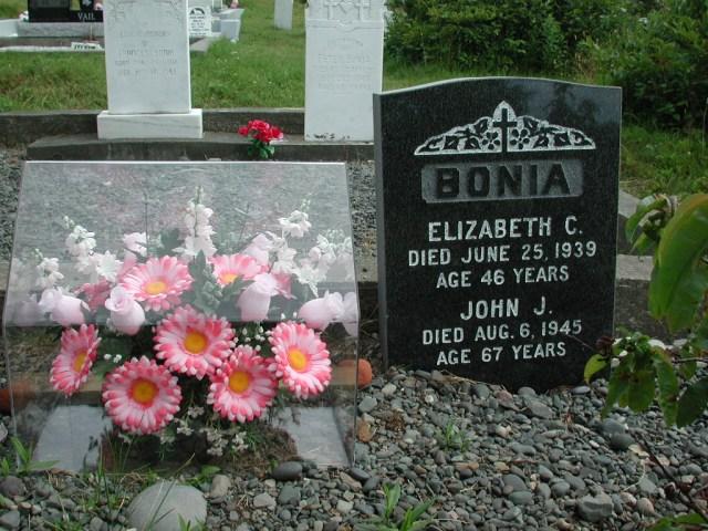 BONIA, John J (1945) & Elizabeth C (1939) STM01-2463