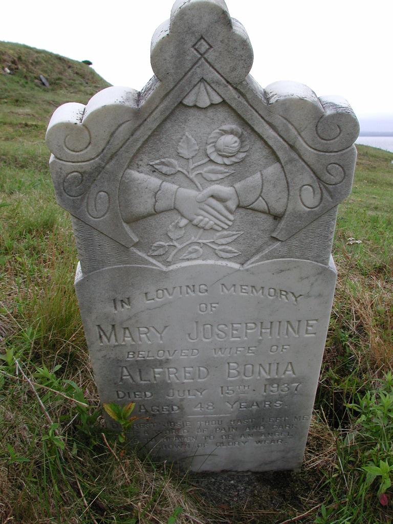 BONIA, Mary Josephine (1937) SJP01-7527
