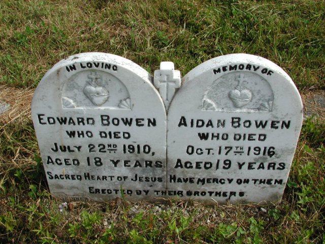 BOWEN, Edward (1910) & Aidan (1916) STM01-8210