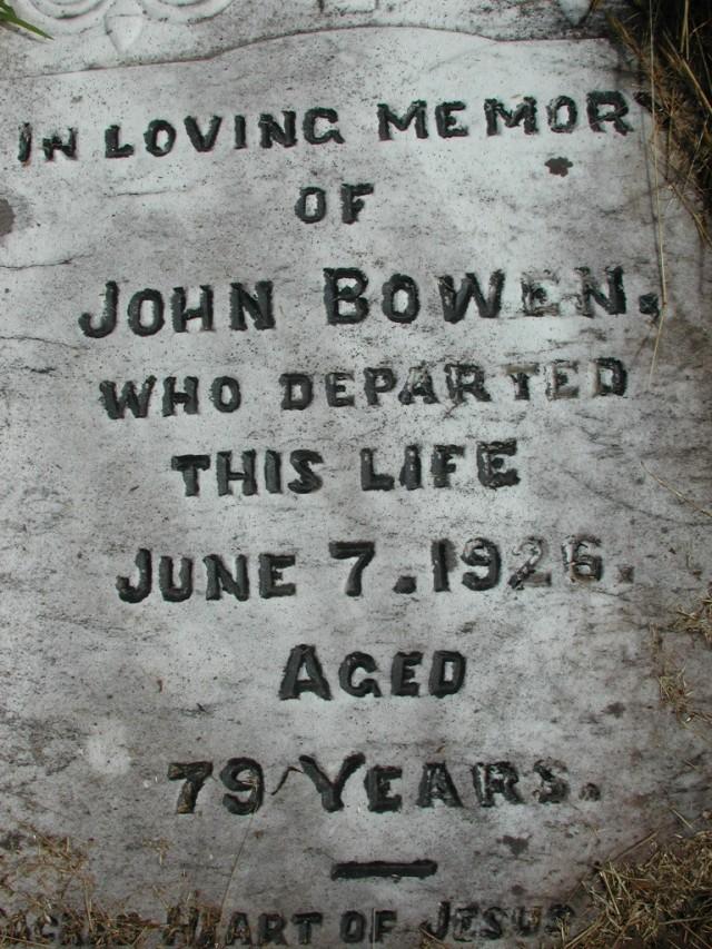 BOWEN, John (1926) STM01-2408
