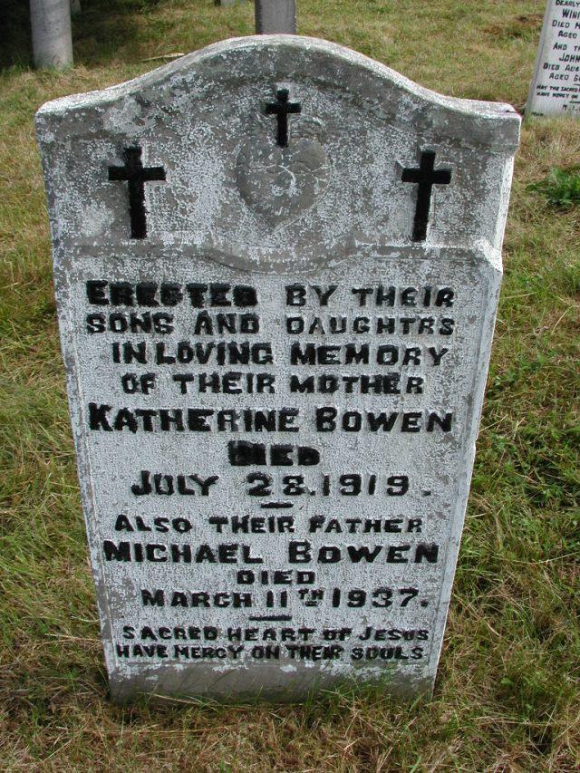 BOWEN, Michael (1937) & Katherine (1919) STM01-8208