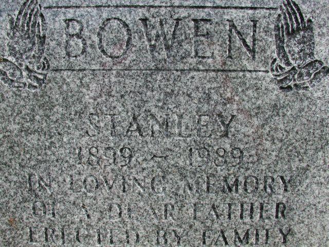 BOWEN, Stanley (1989) STM01-8206