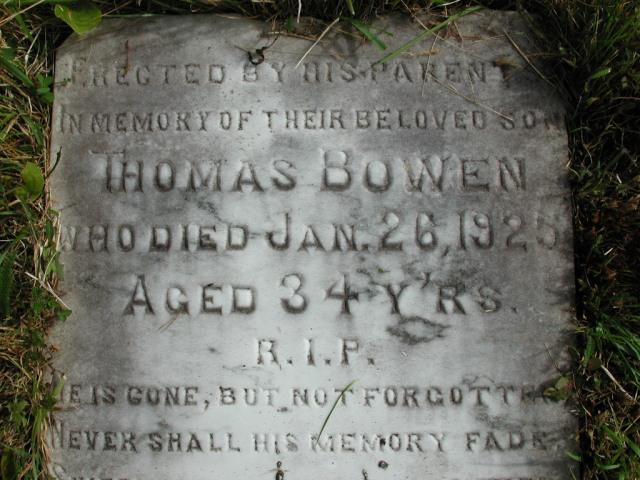 BOWEN, Thomas (1925) STM01-8213