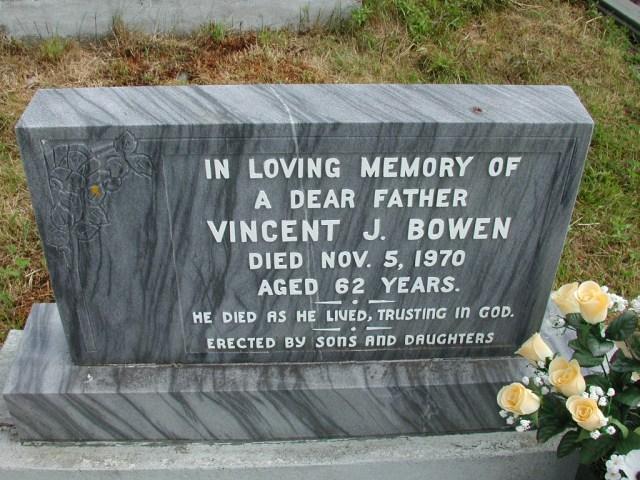 BOWEN, Vincent J (1970) STM01-8320