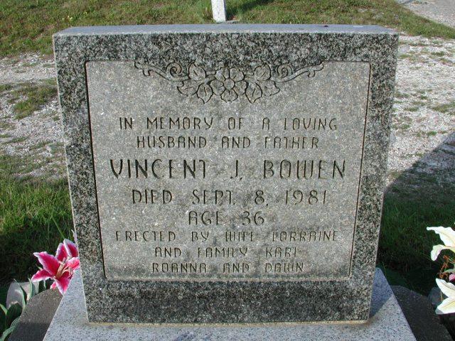 BOWEN, Vincent J (1981) STM03-9433