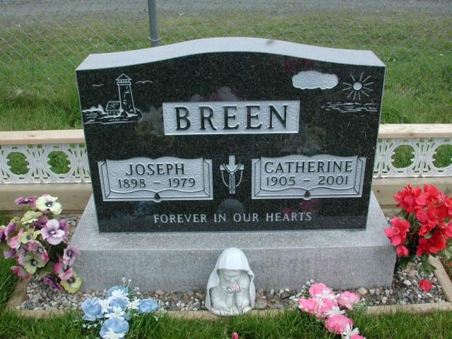 BREEN, Joseph (1979) & Catherine (2001) STM01-2282