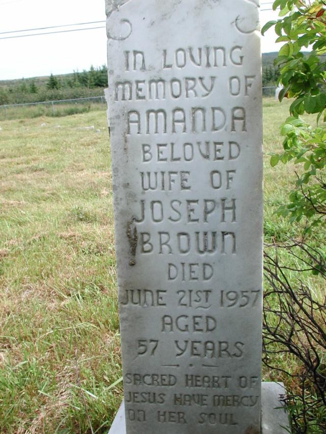 BROWN, Amanda (1957) STM01-2395