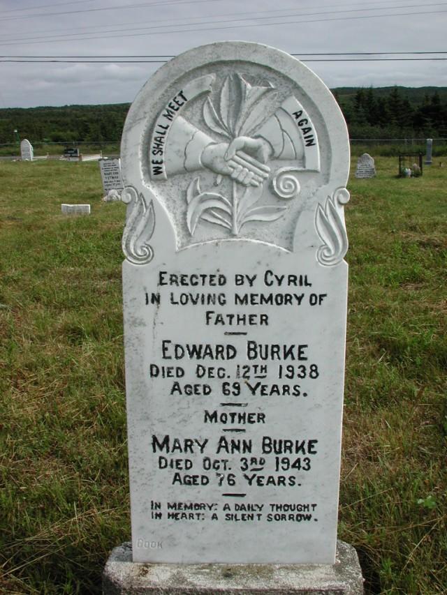 BURKE, Edward (1938) & Mary Ann (1943) STM01-2402