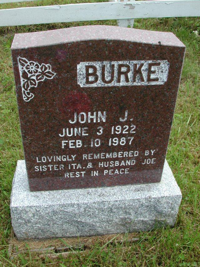 BURKE, John J (1987) STM01-8146