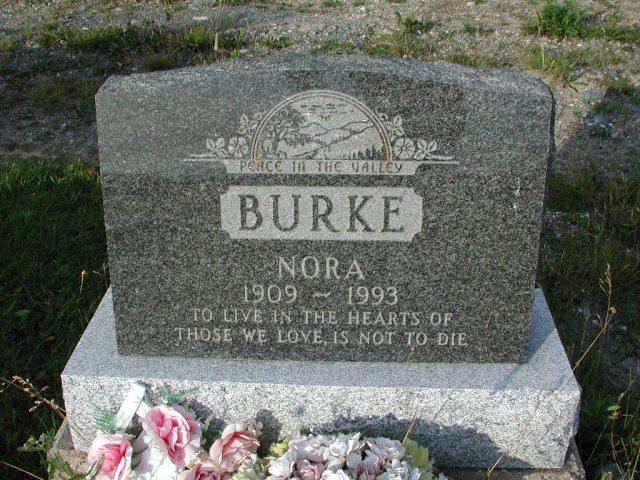 BURKE, Nora (1993) STM03-3697