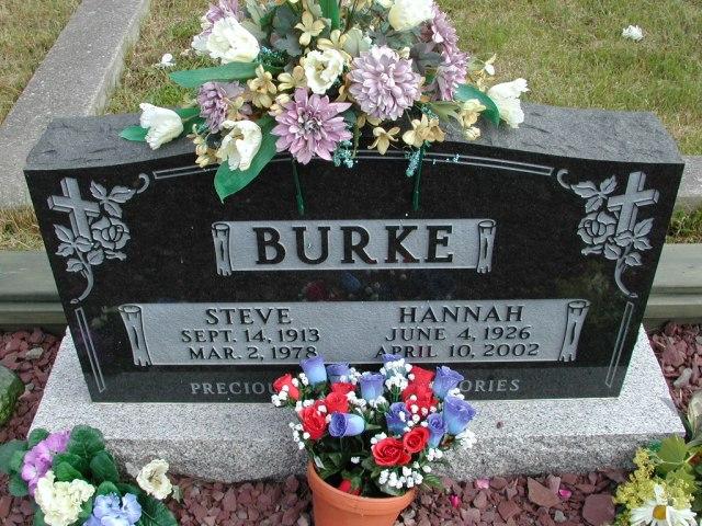 BURKE, Steve (1978) & Hannah (2002) STM01-8321