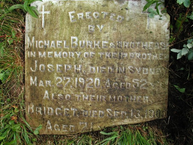 BURKE, William (1914) & Bridget & Joseph STM01-8179
