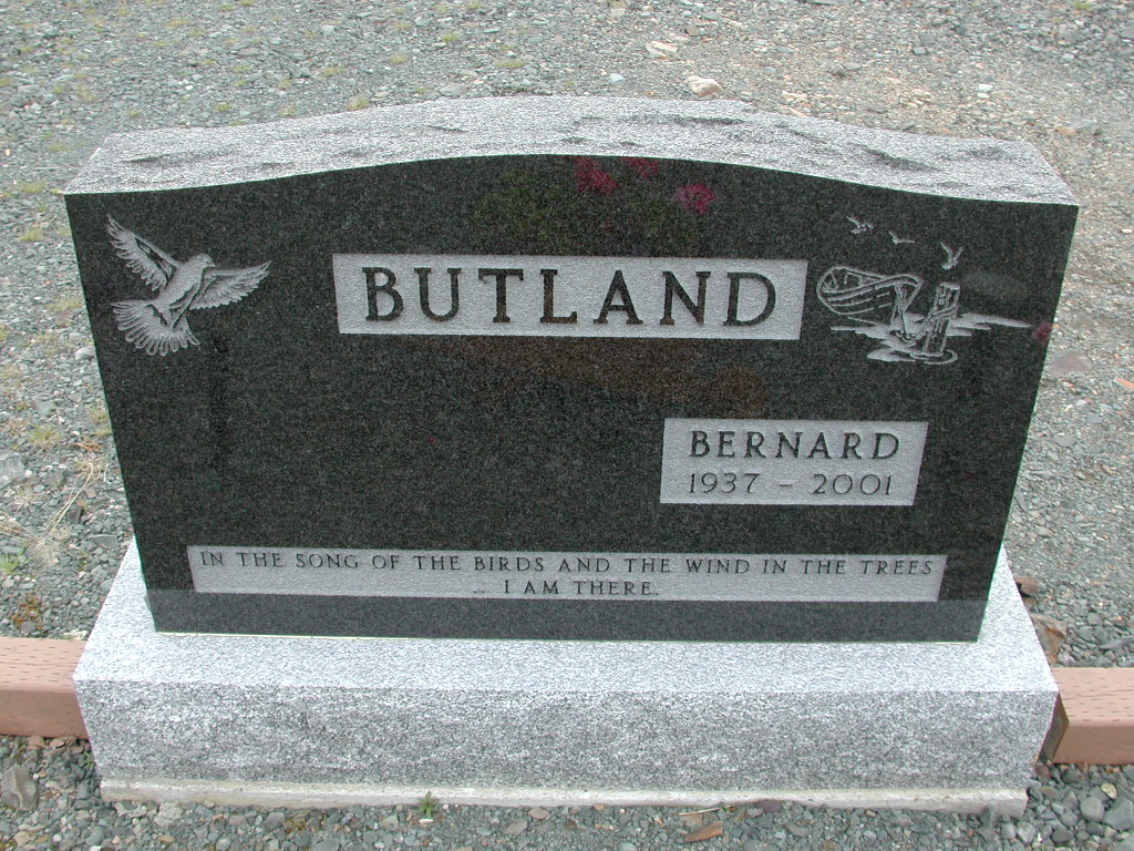 BUTLAND, Bernard (2001) ODN01-7735