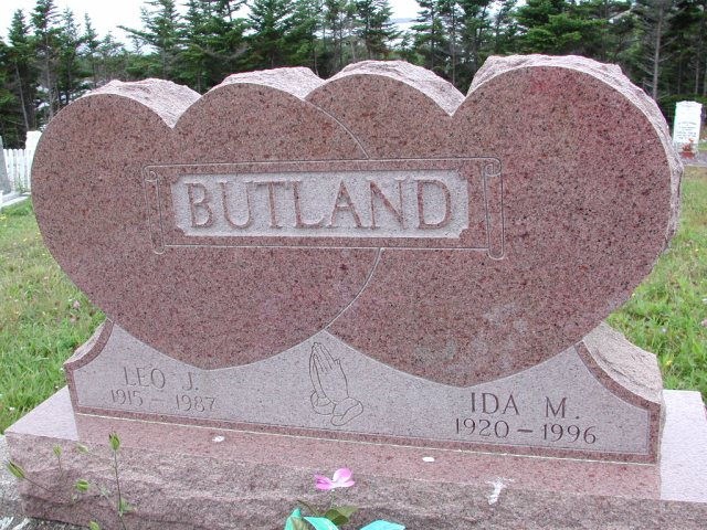 BUTLAND, Leo J (1987) & Ida M (1996) ODN02-7790