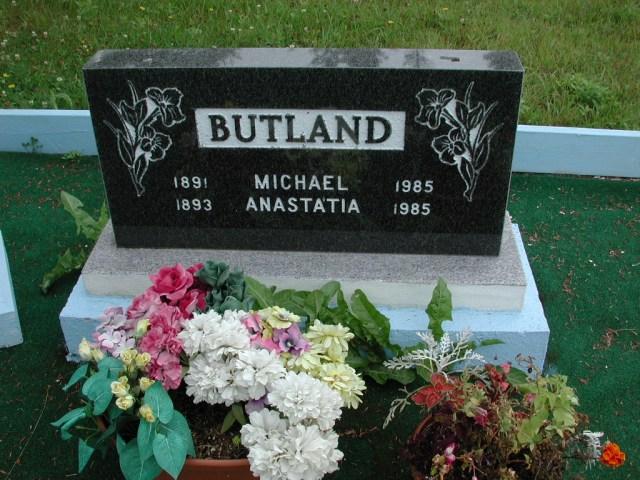 BUTLAND, Michael (1985) & Anastatia (1985) ODN02-2019