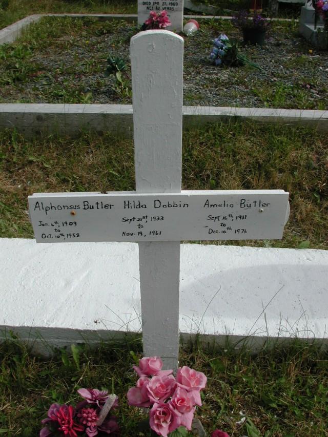 BUTLER, Alphonsus (1958) & Amelia & Hilda Dobbin STM01-8266