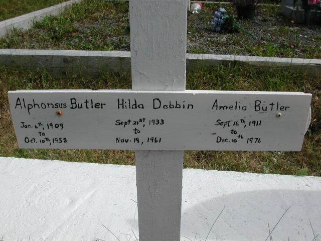 BUTLER, Alphonsus (1958) & Amelia & Hilda Dobbin STM01-8267