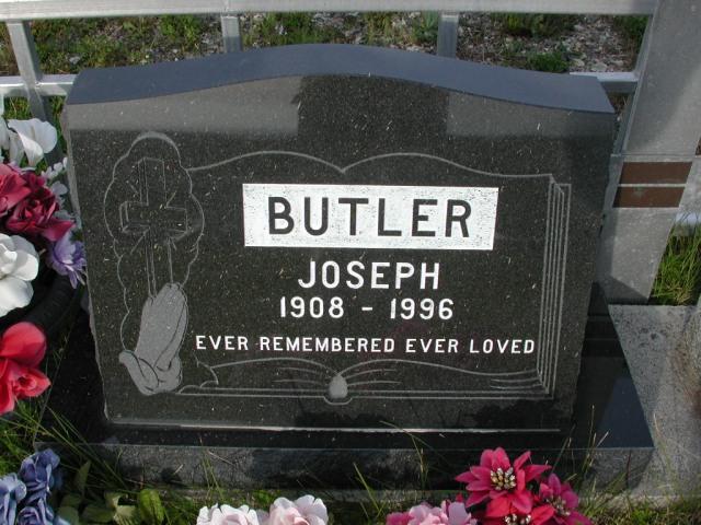 BUTLER, Joseph (1996) STM03-9447