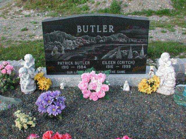 BUTLER, Patrick (1984) & Eileen Critch (1999) STM03-3740