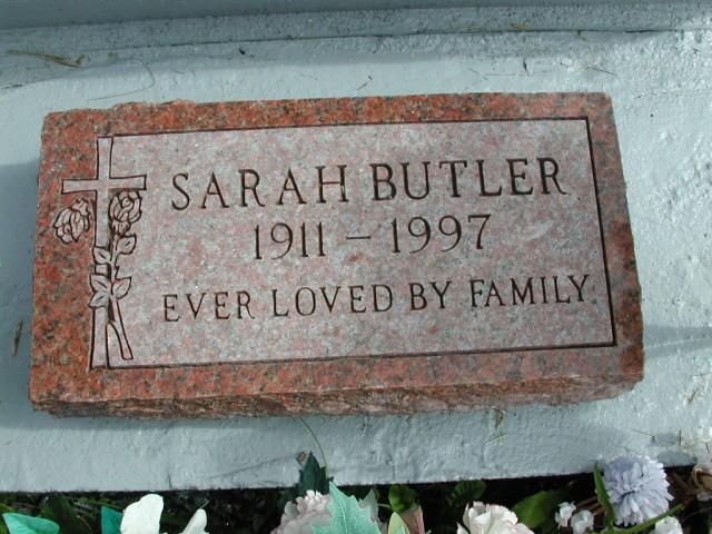 BUTLER, Sarah (1997) STM01-8271