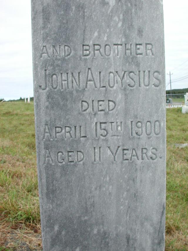 CAHILL, John Aloysius (1900) STM01-2308