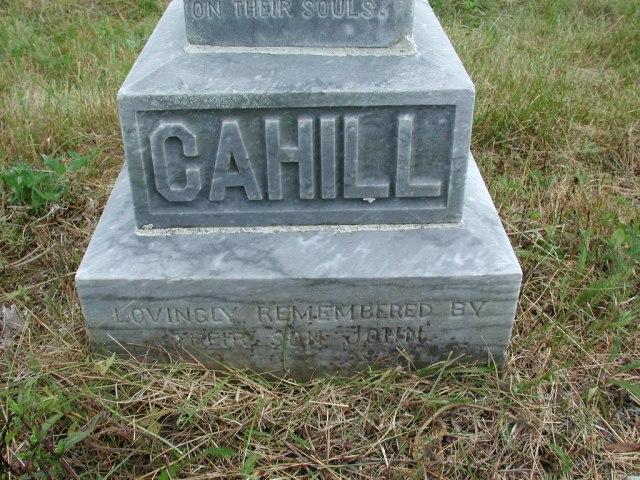 CAHILL, Michael (1928) & Margaret (1948) STM01-2307