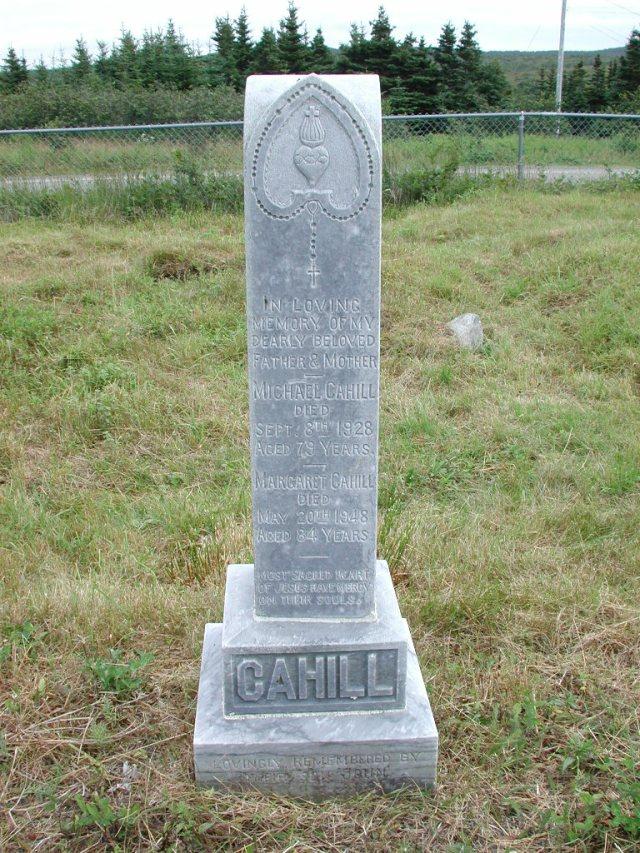 CAHILL, Michael (1928) & Margaret & John STM01-2305