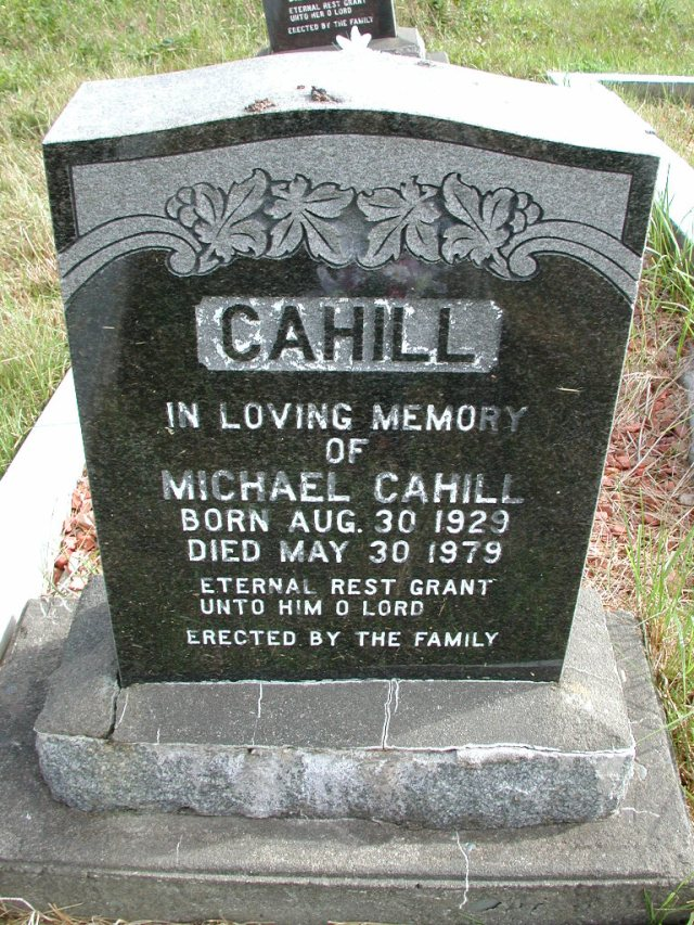 CAHILL, Michael (1979) STM01-8241