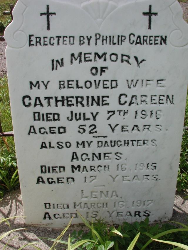 CAREEN, Catherine (1916) & Agnes & Lena PLN01-7642