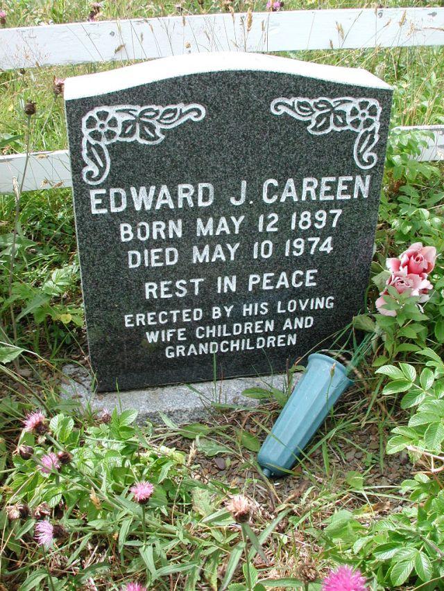 CAREEN, Edward J (1974) PLN01-7625