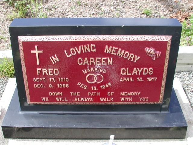 CAREEN, Fred (1996) & Gladys PLN01-3056